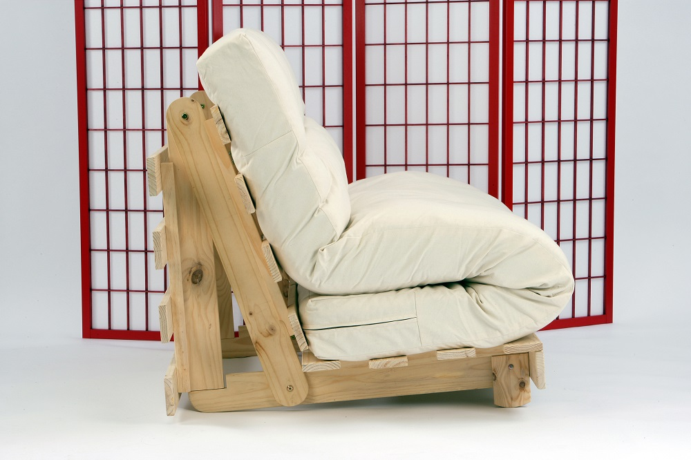 Image of: Chair Futon Size