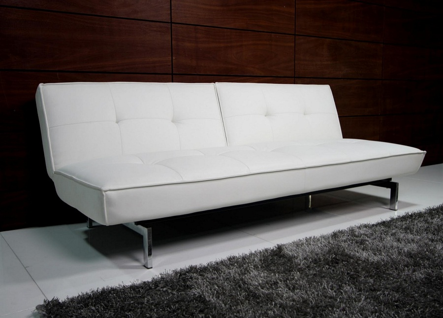 Cheap Futons White Color