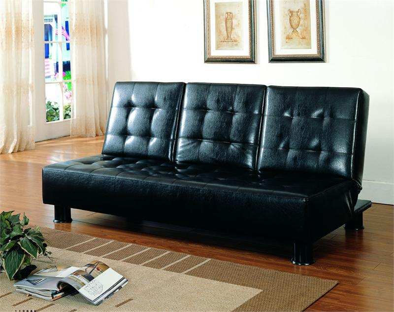 Image of: Click Clack Futon Black