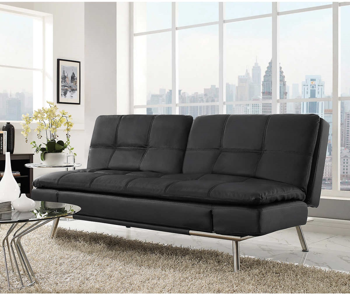 Contemporary Costco Futon Sofa
