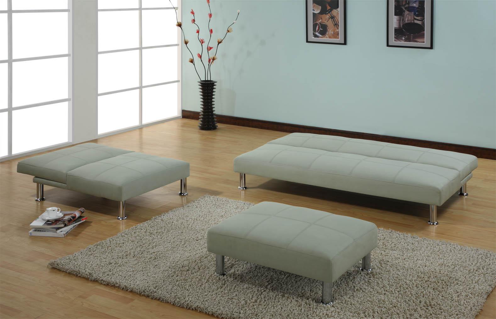 Contemporary IKEA Futon Mattress