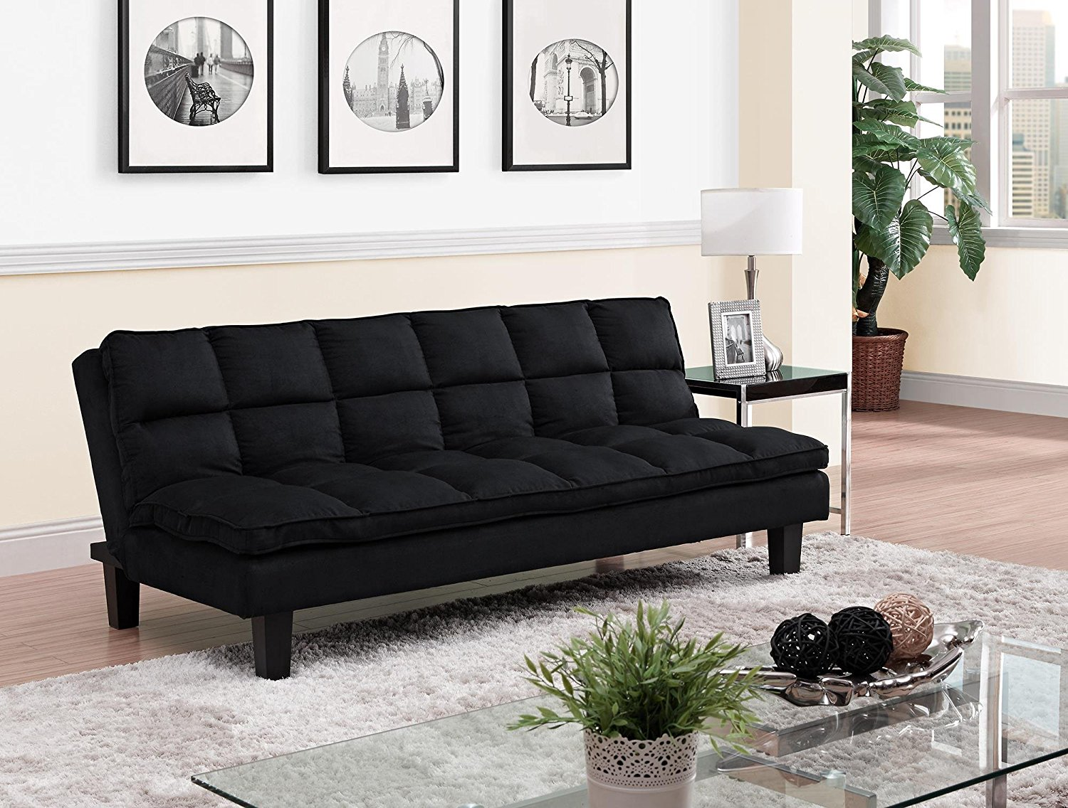 Image of: Contemporary Queen Size Futon Frame