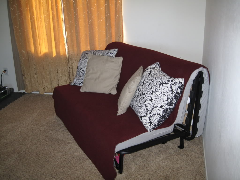 Image of: Corner Futon Bed Designs Target