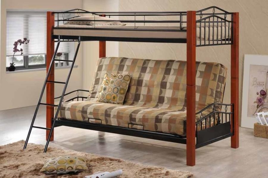 Country Twin Over Futon Bunk Bed