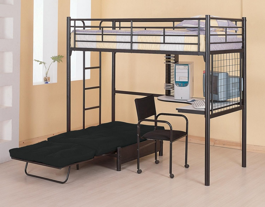 Image of: Cute Futon Bunk Bed Designs
