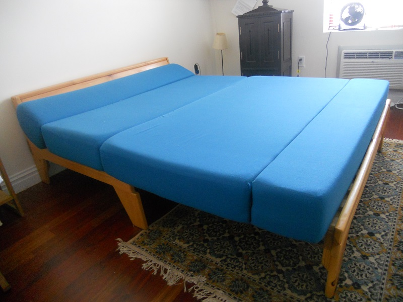 Cute Queen Size Futon Frame