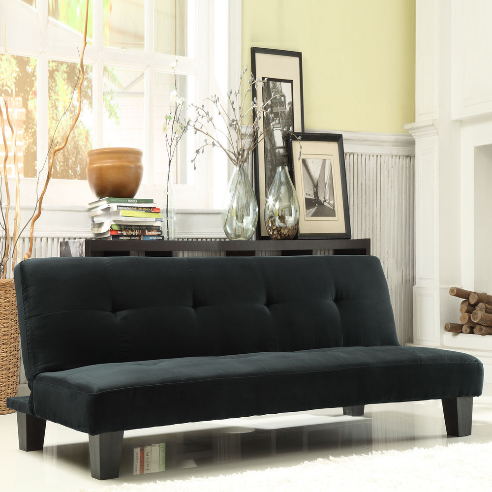 Image of: Elegant Mini Futon