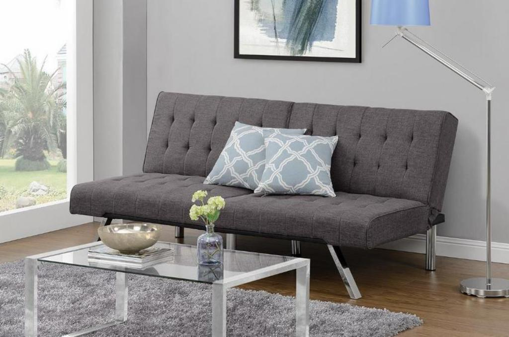 Image of: Emily Convertible Futon Chair