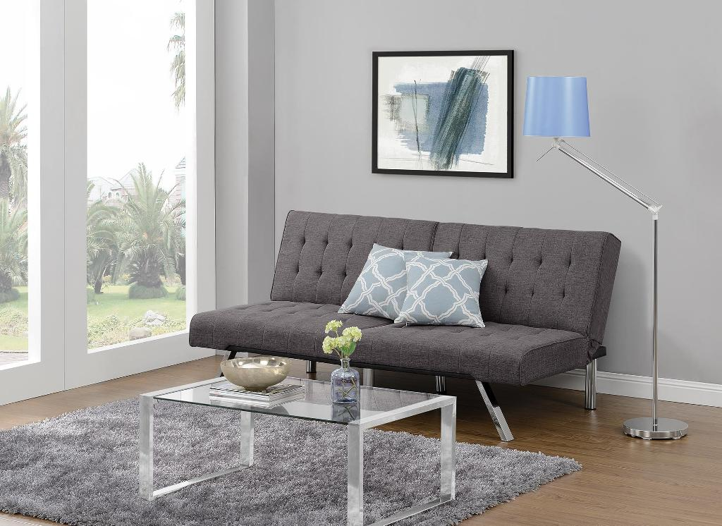 Image of: Emily Convertible Futon Flip Bed