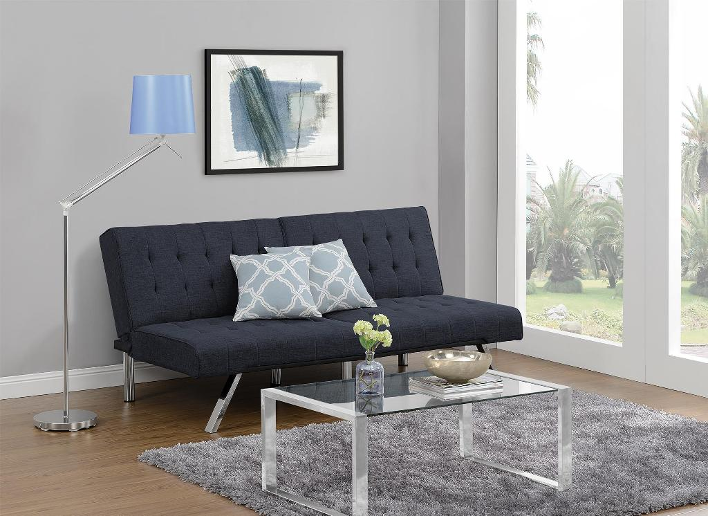 Image of: Emily Convertible Futon Lounger