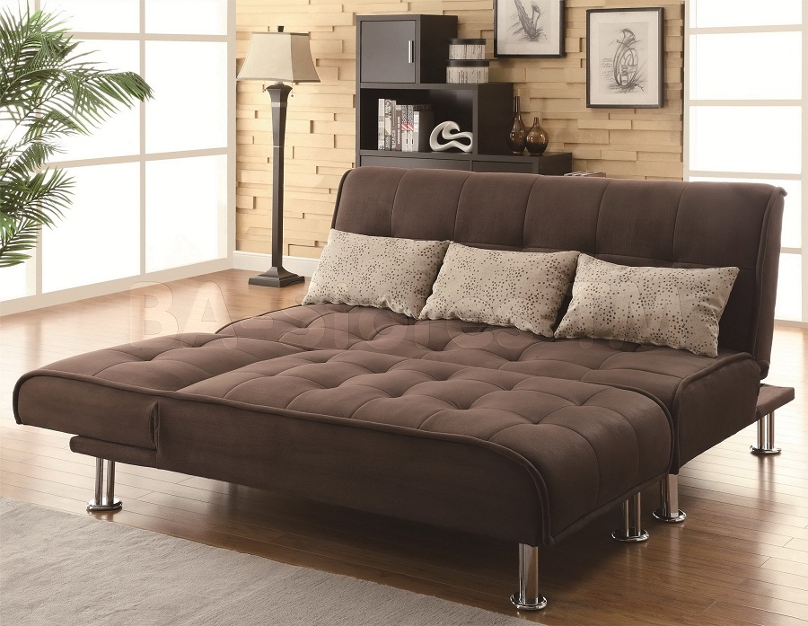 Image of: Full Size Futon Frame Sofa Bed