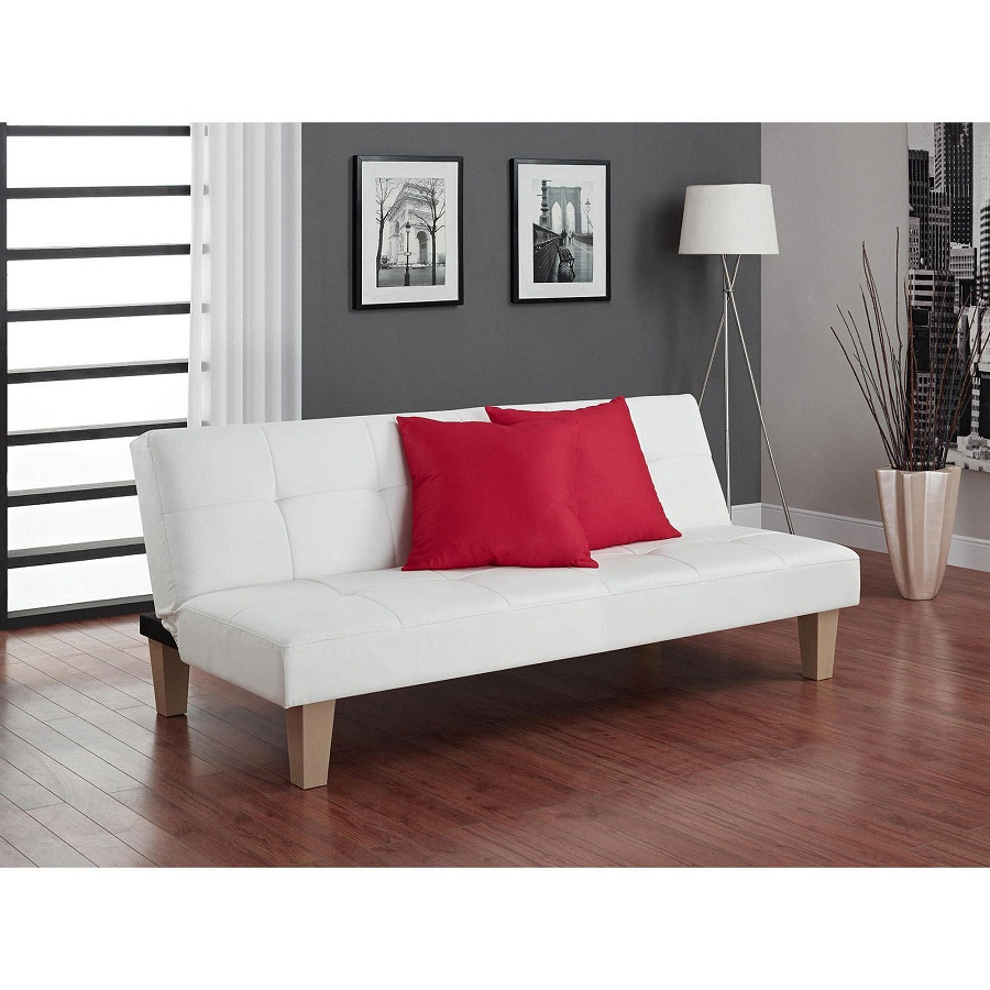 Image of: Full Size Futon Frame Sofa