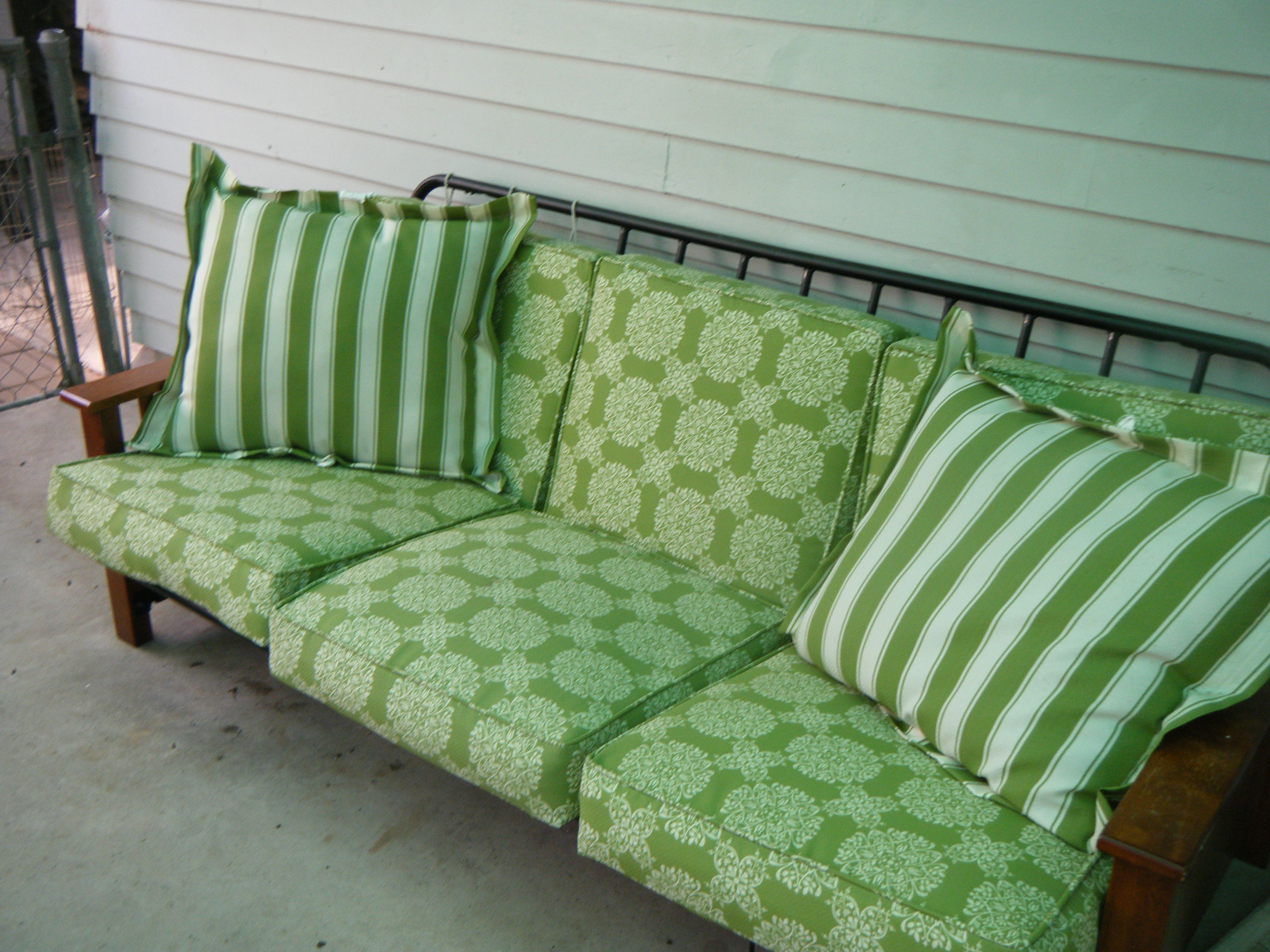 Image of: Futon Alternative Green