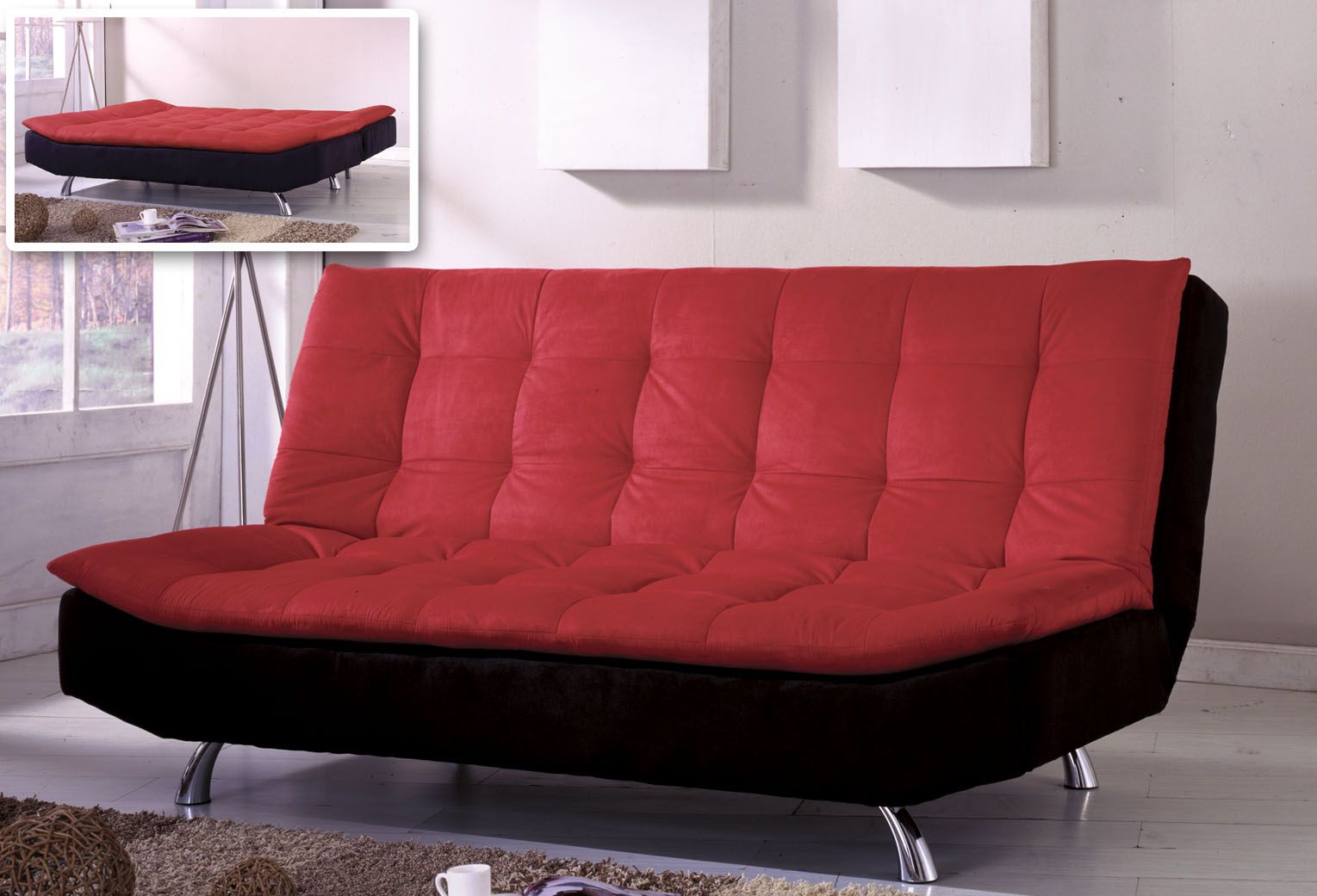 Futon Alternative Red