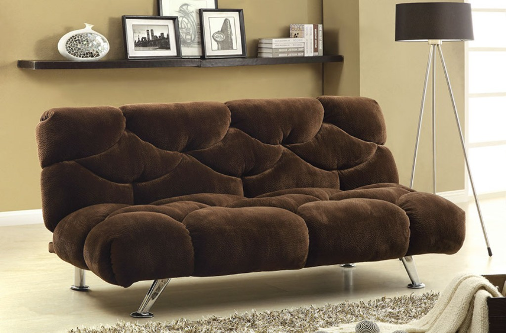 Image of: Futon Beds Target for Living Room