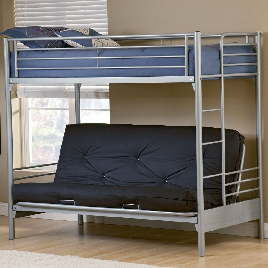 Image of: Futon Beds with Mattress Included Walmart