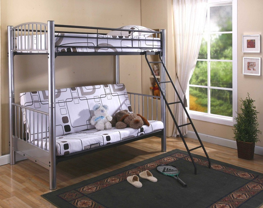Image of: Futon Bunk Bed Designs Ideas