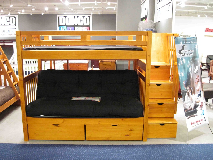 Image of: Futon Bunk Bed Designs Seat