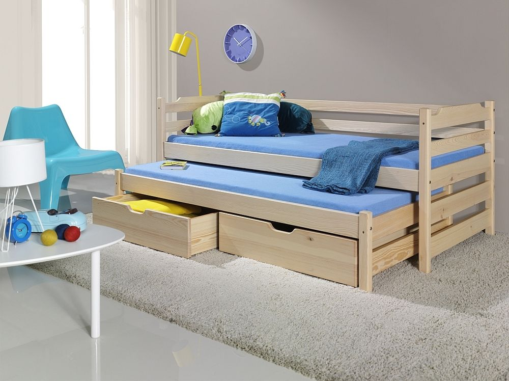 Image of: Futon Bunk Bed with Mattress Included Design