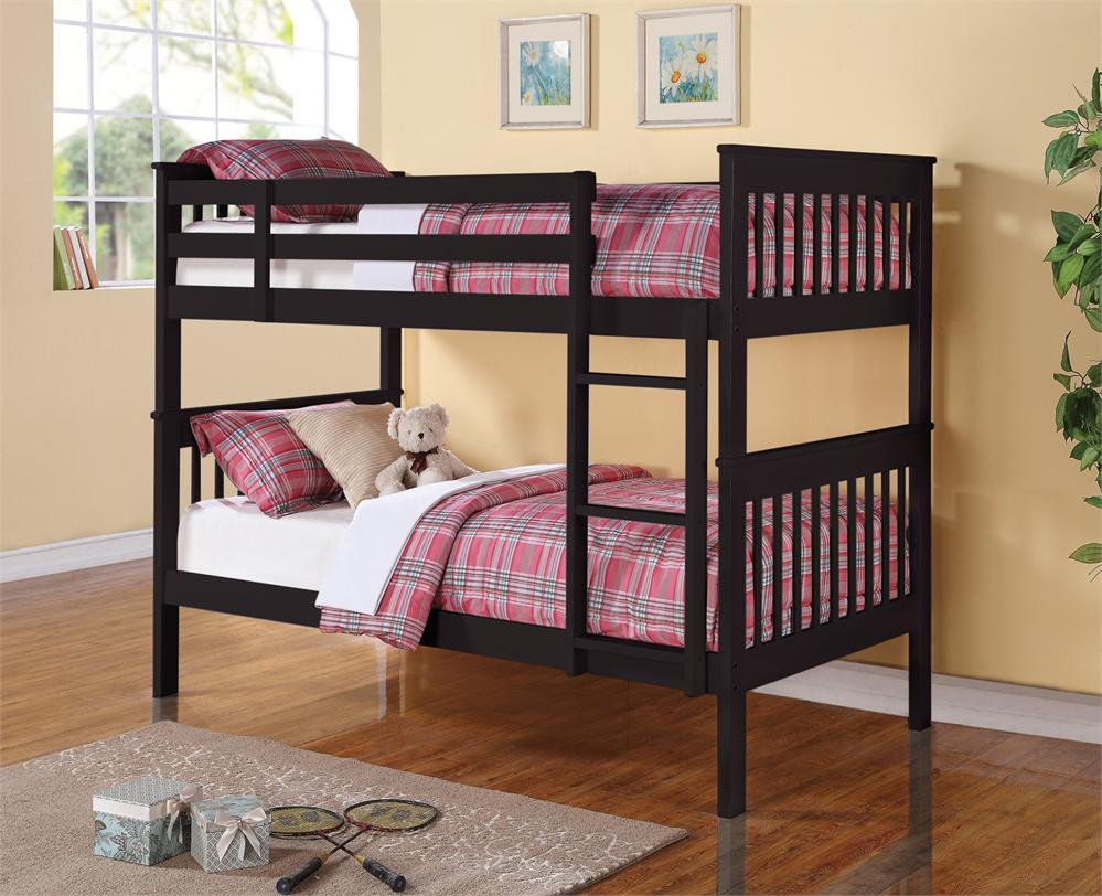 Futon Bunk Beds Black