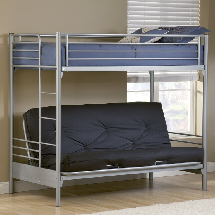 Image of: Futon Bunk Beds Set