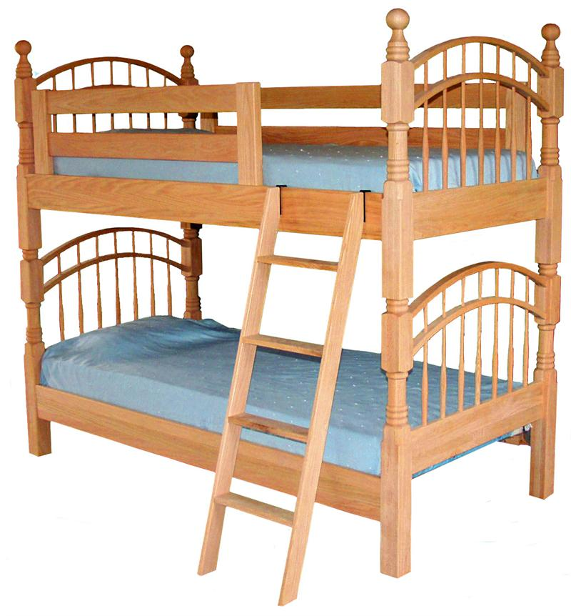 Image of: Futon Bunk Beds Twin