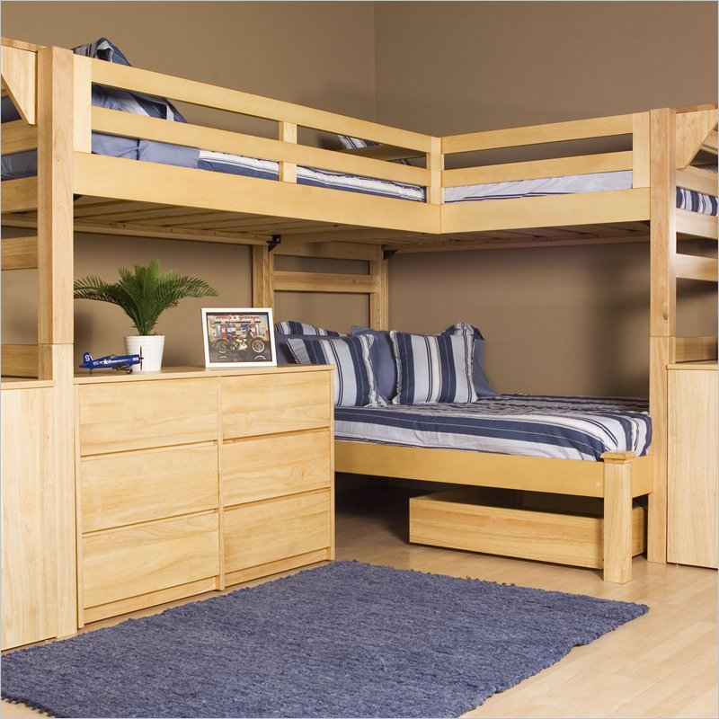 Futon Bunk Beds Wood