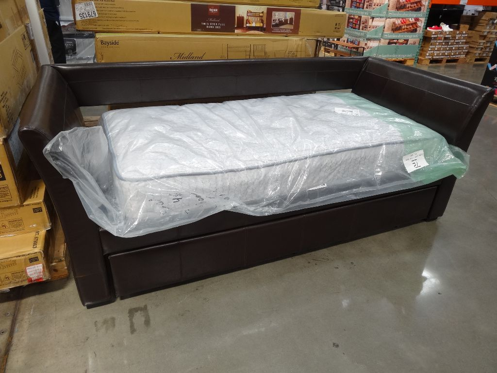 Image of: Futon Costco With Trundle