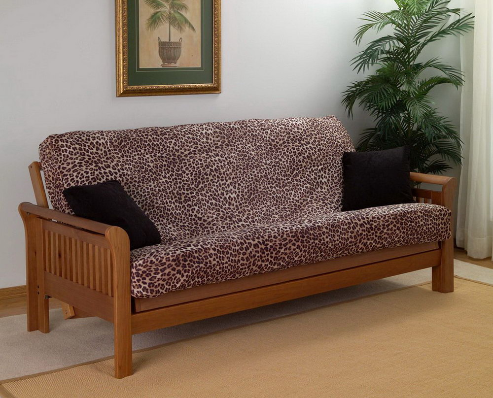Image of: Futon Covers Target Pattern