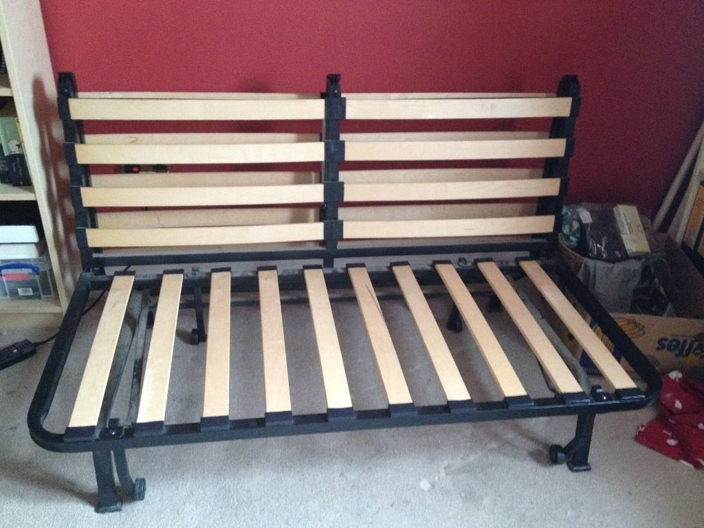 Image of: Futon Frame IKEA Assembly