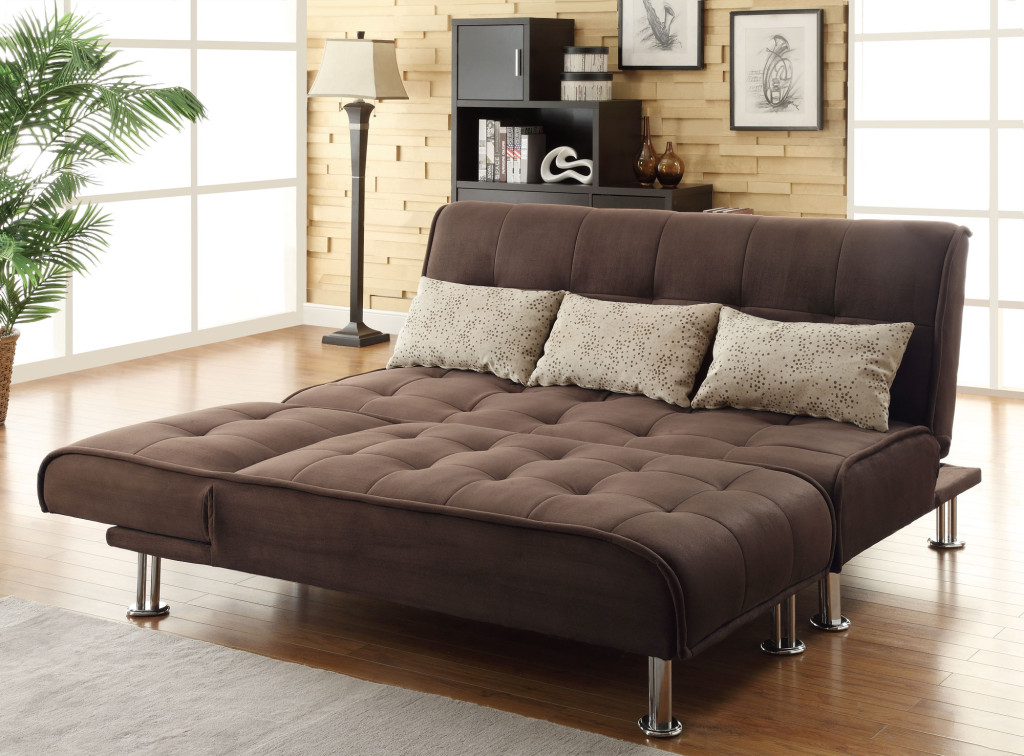 Image of: Large Futon IKEA Sleeper Bed
