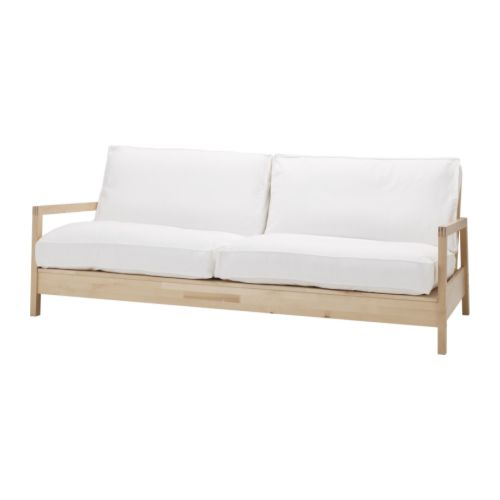 Image of: Futon Ikea Long White