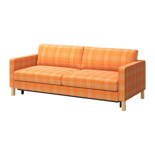 Image of: Futon Ikea Orange