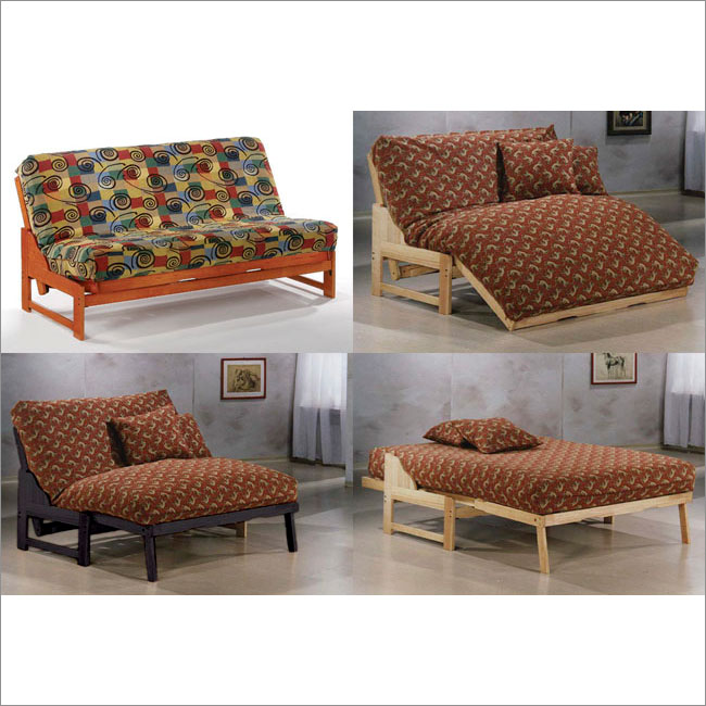 Image of: Futon Lounger Model