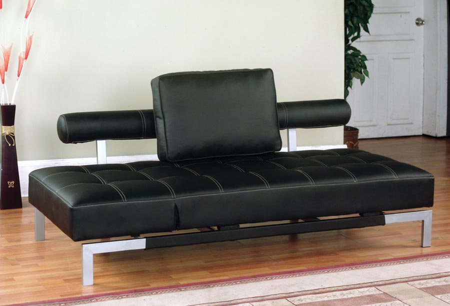 Image of: Futon Lounger Sofa