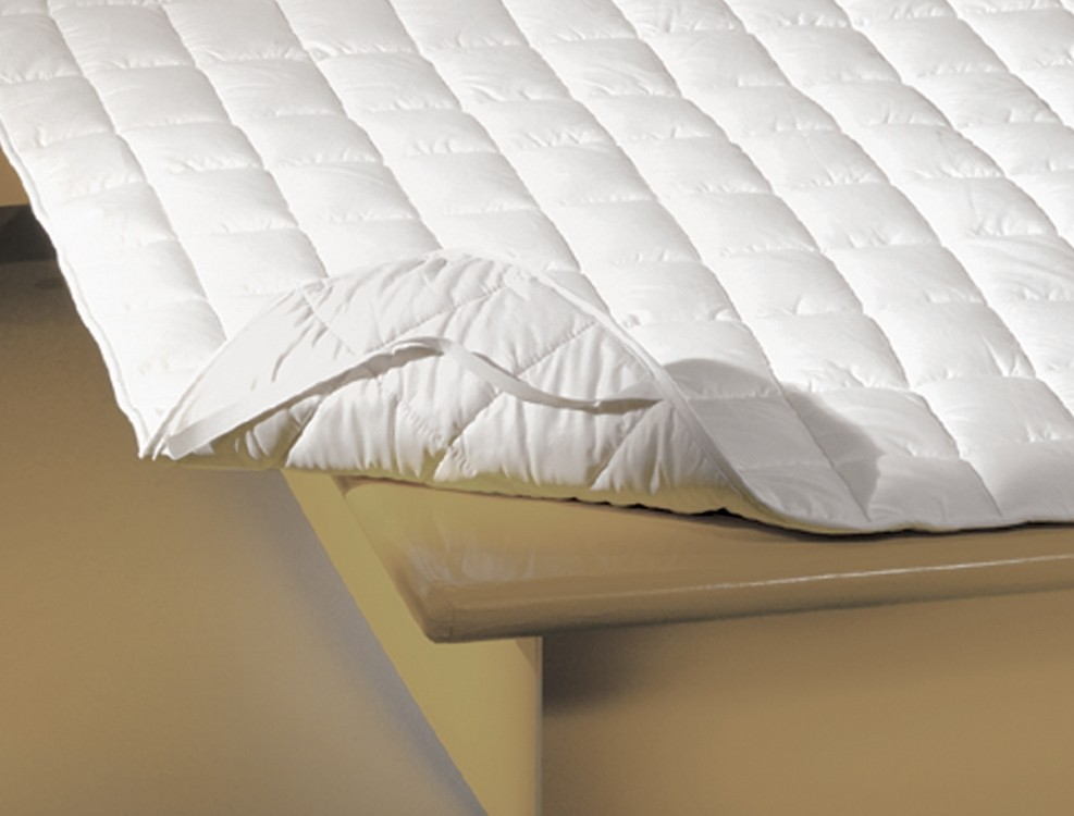 Image of: Futon Mattress Cover in White