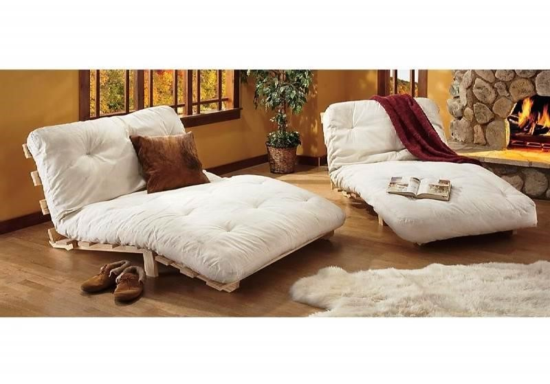 Image of: Futon Mattress Covers White