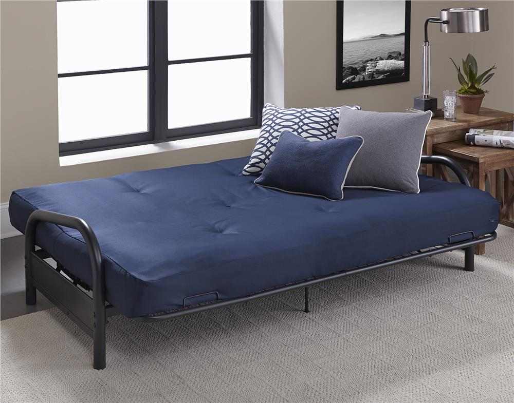 Image of: Futon Mattress Covers navy