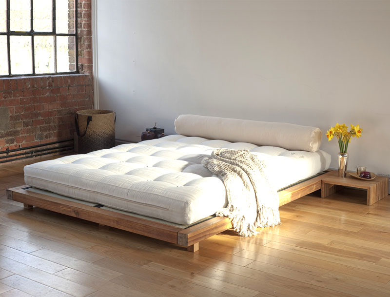Image of: Futon Mattress Walmart Platform