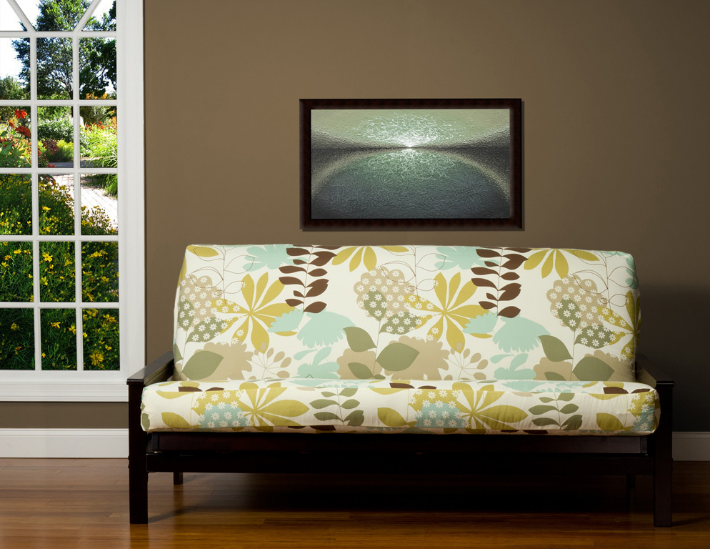Image of: Futon Slipcover Living Room