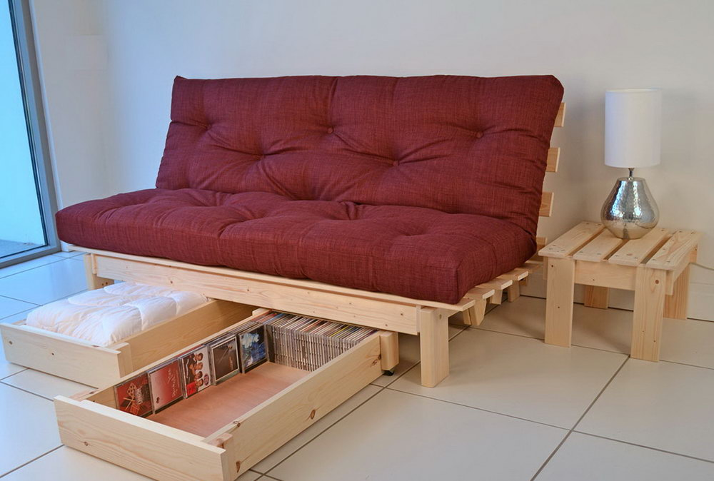 Image of: Futon Target and Storage
