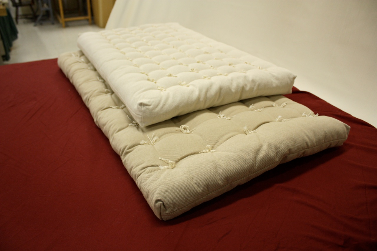 Image of: Futon Topper Size
