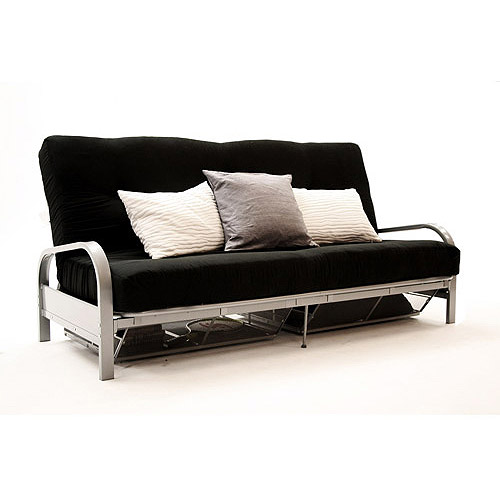 Futon with Armrest Metal
