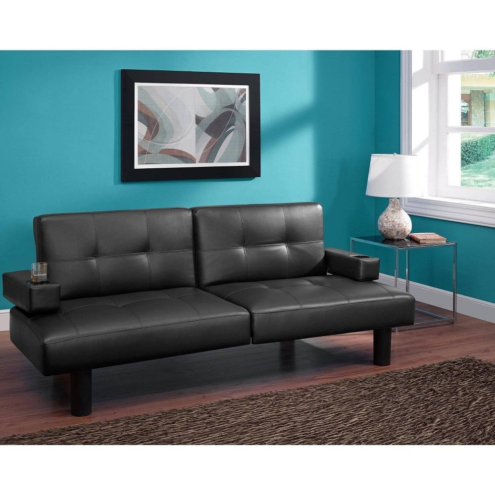 Image of: Futon with Armrest Modern