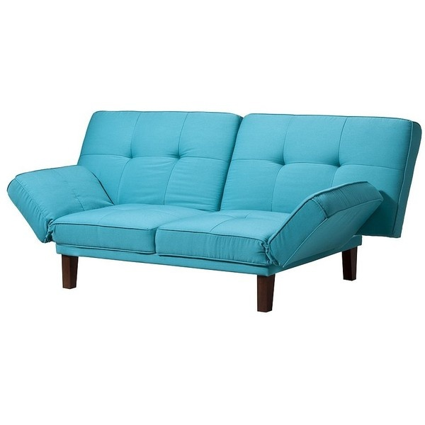 Image of: Futons at Target Blue