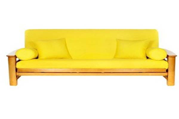 Image of: Futons at Target Yellow