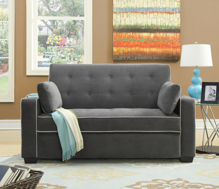 Image of: Gray Small Futons