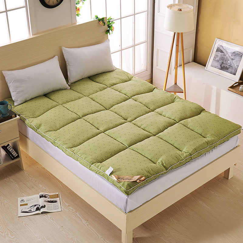 Image of: Green Futon Topper