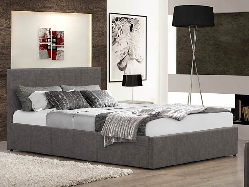 Image of: Grey Futon Bedroom