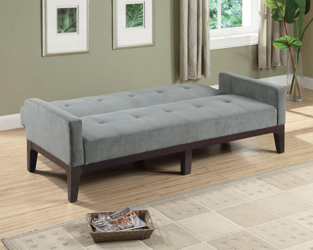 Image of: Grey Futon Ideas